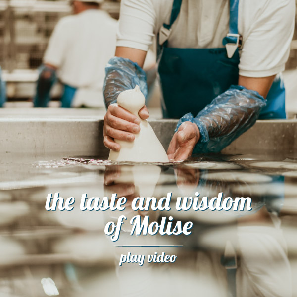 The taste and wisdom of Molise - Play video